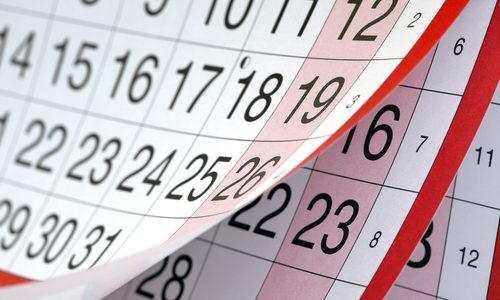New Year bookkeeping dates and other interesting anniversaries